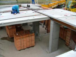 hrubá stavba - stropy